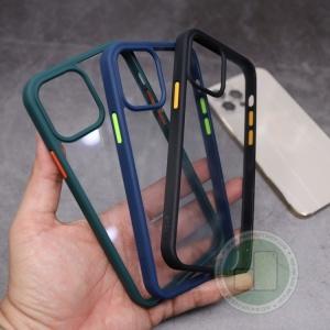 """Ốp chống sốc iPhone 12 Pro 6.1"""" - LIKGUS viền màu"""